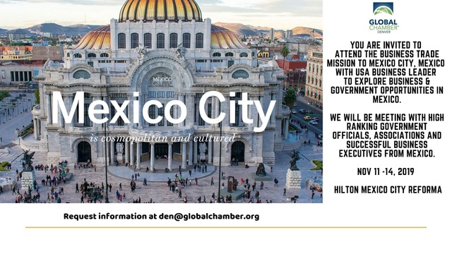Mexico City Trade Visit – November 11th to 14th