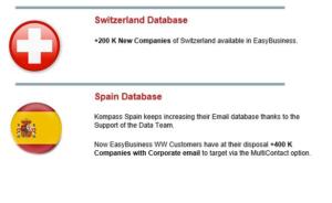 Kompass EasyBusiness: Updated Data June 2021-more than 53 million companies