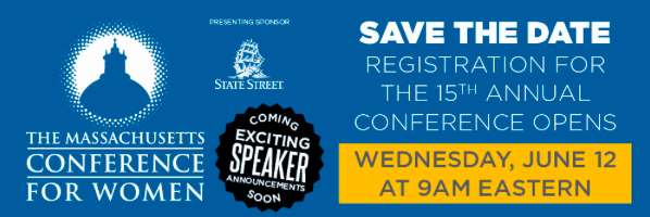 Save the Date: Massachusetts Conference for Women Registration