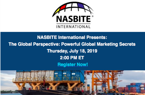 NASBITE International Presents:  The Global Perspective: Powerful Global Marketing Secrets