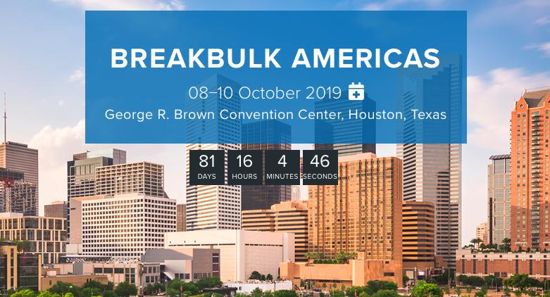 Join Us At Breakbulk Americas 30th Anniversary
