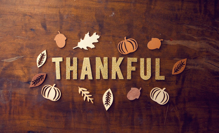 Give Thanks – Thanksgiving 2019