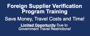 Online FSVP Training Available – Only a Few Seats Left for September 15-16!